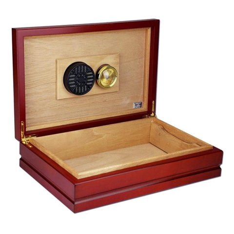 Image of Florenci Travel Humidor 30 Cigar Count | Cherry - Shades of Havana