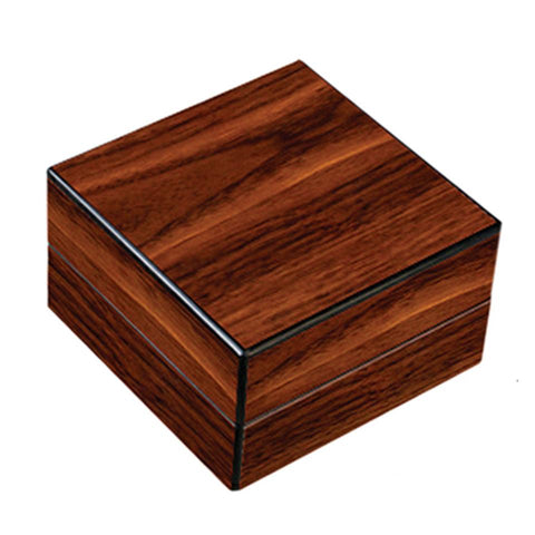 Folding Ashtray Set - High Gloss Walnut With Accessories - Prestige Import Group - Shades of Havana