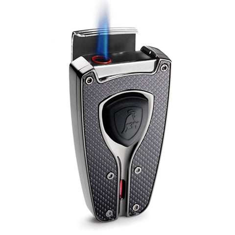Forza - Black Carbon Fiber Cigar Lighter - Tonino Lamborghini