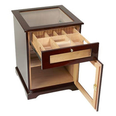 Ballero End Table Humidor Cabinet 600 Cigar Count
