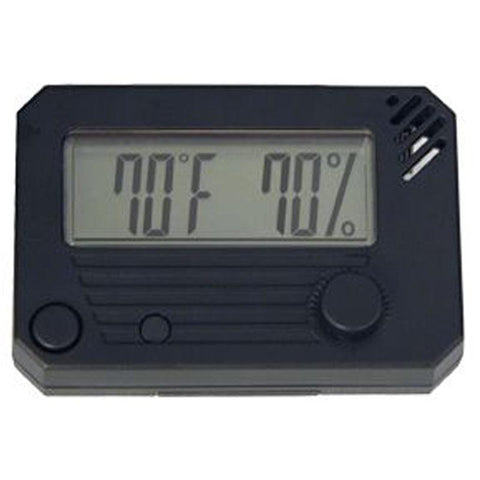 HygroSet - Rectangle Digital Hygrometer - Shades of Havana