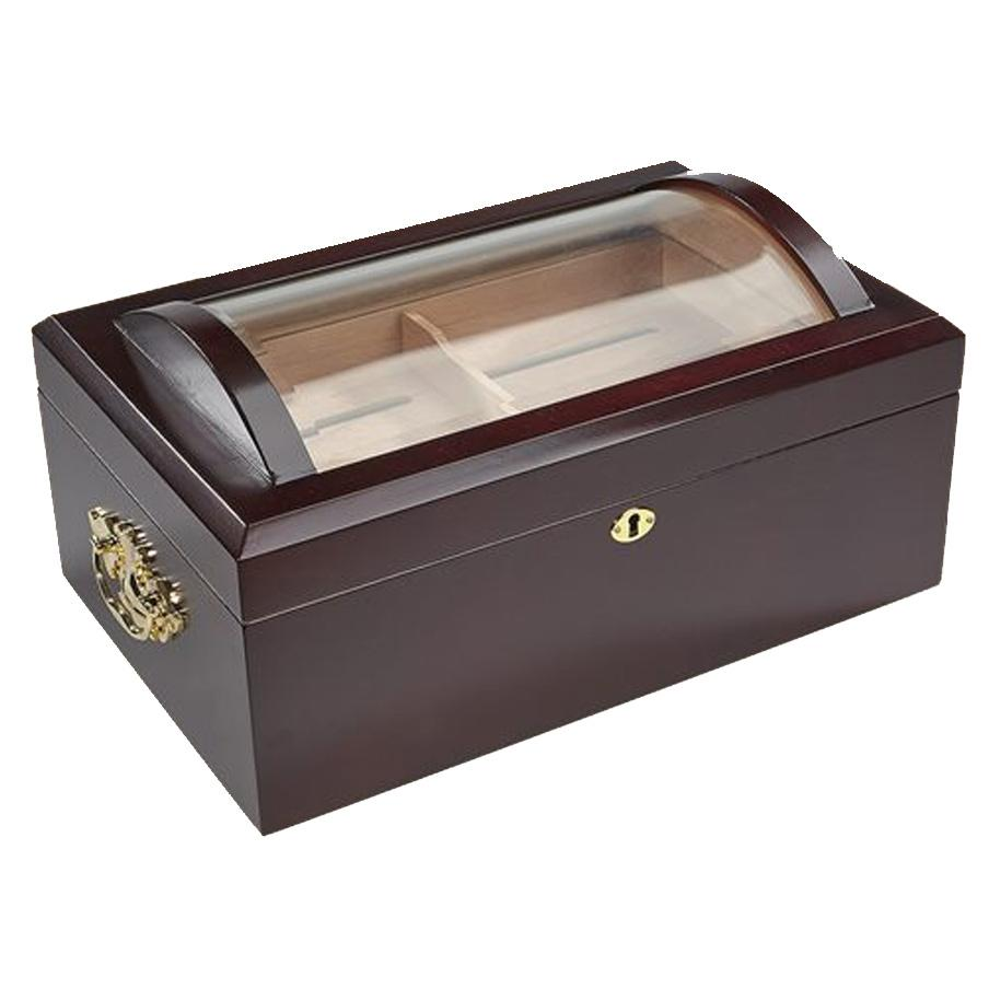 Il Duomo Glass Top Display Humidor | 150 Cigar Count - Shades of Havana