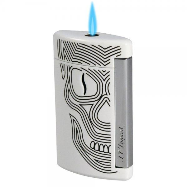 S.T. Dupont Minijet Single Torch Lighter - Shades of Havana