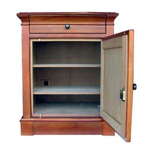 Image of Lauderdale End Table Humidor Cabinet 500 Cigar Count - Shades of Havana