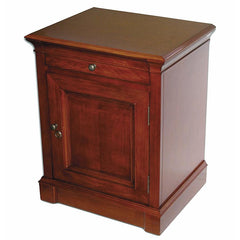 Lauderdale End Table Humidor Cabinet 500 Cigar Count - Shades of Havana