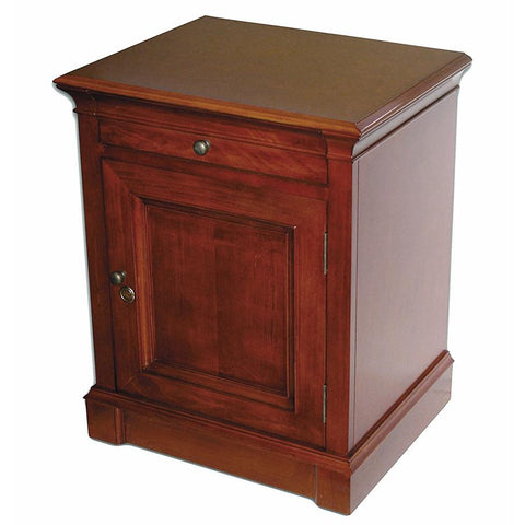 Lauderdale End Table Humidor Cabinet - 500 Cigar Capacity