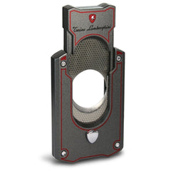 Le Mans - Metallic Gray With Red Lines Cigar Cutter - Tonino Lamborghini