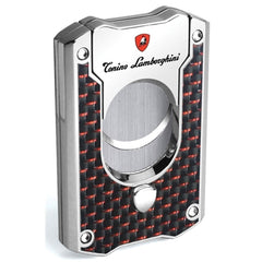 Le Mans - Red Carbon Fiber Cigar Cutter - Tonino Lamborghini - Shades of Havana