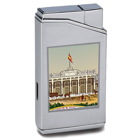 Image of Lotus Cuban Vista Collection - Henry Clay Chrome Lighter - Shades of Havana