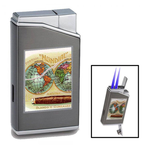 Lotus Cuban Vista Collection - Mundial Chrome Lighter