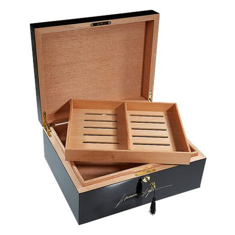 Image of Lucious Lyon 75 Cigar Count Humidor | From Empire TV Show - Shades of Havana