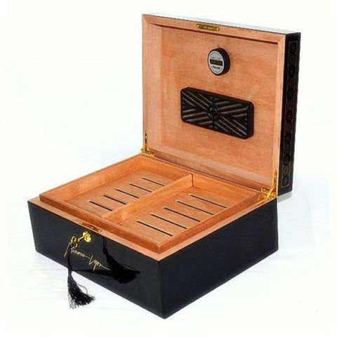 Lucious Lyon Humidor - From Empire TV Show - 75 Cigars - Shades of Havana