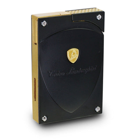 Lynx - Black With Accent Torch Flame Lighter - Tonino Lamborghini