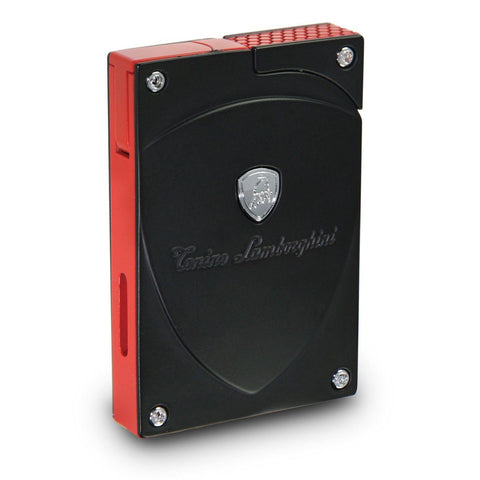 Image of Lynx - Black With Accent Torch Flame Lighter - Tonino Lamborghini - Shades of Havana