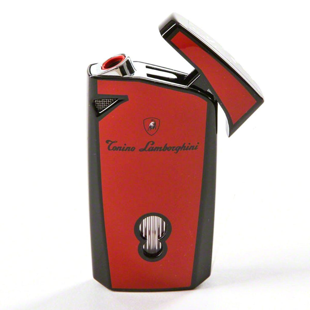 Magione - Red Torch Flame Cigar Lighter - Tonino Lamborghini - Shades of Havana