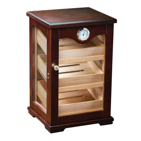 Image of Milano Humidor Cabinet Display 125 Cigar Count - Shades of Havana