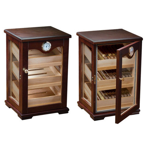 Milano Humidor Cabinet Display 125 Cigar Count - Shades of Havana