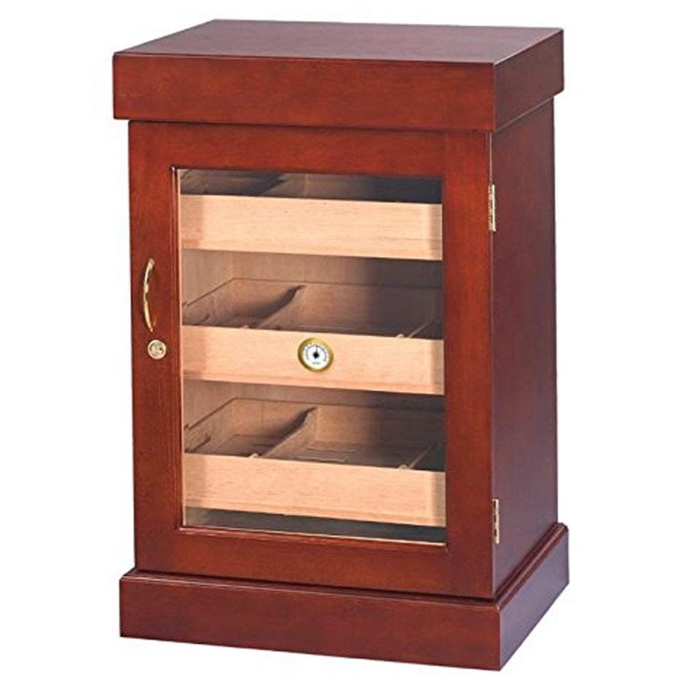 Bravos Humidor Cabinet Mini Cigar Tower 1000 Cigar Count - Shades of Havana