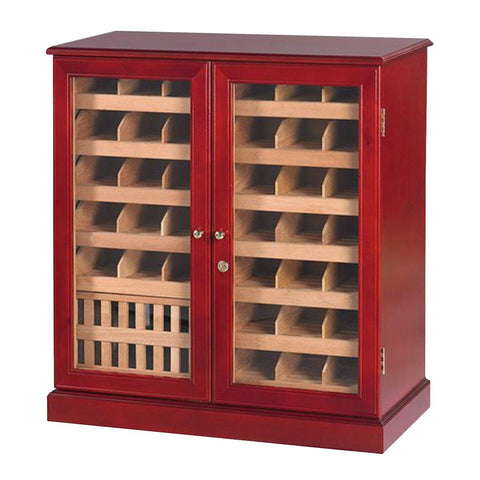 Monarch Humidor Cabinet 1500 Cigar Count | Elegant Glass Display - Shades of Havana