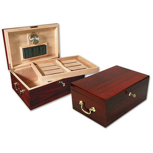 Monte Carlo 120 Count Cherry Humidor - Shades of Havana