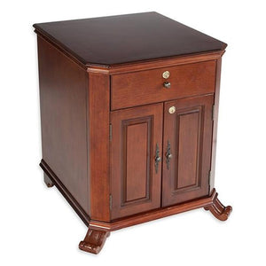 Montegue End Table Humidor 1000 Cigar Count - Shades of Havana