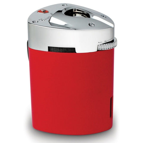 Image of Mugello - Red Triple Torch Flame Table Lighter - Tonino Lamborghini - Shades of Havana