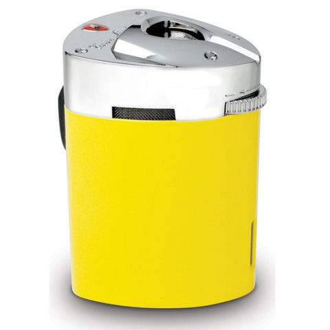 Image of Mugello - Yellow Triple Torch Flame Table Lighter - Tonino Lamborghini - Shades of Havana