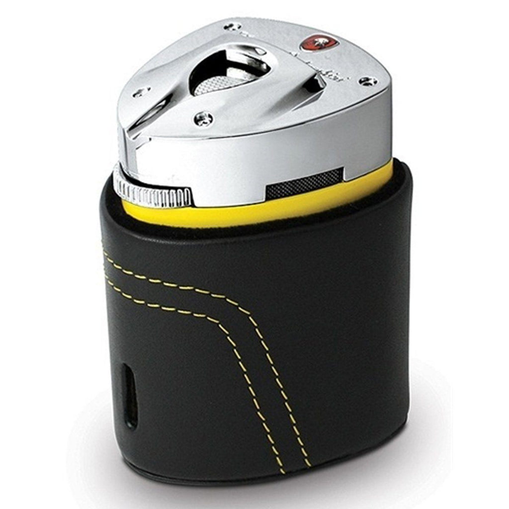 Mugello - Yellow Triple Torch Flame Table Lighter - Tonino Lamborghini - Shades of Havana