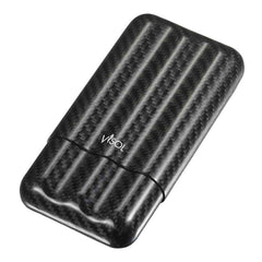 Night II - Carbon Fiber Larger Cigar Case - 3 Finger - Visol