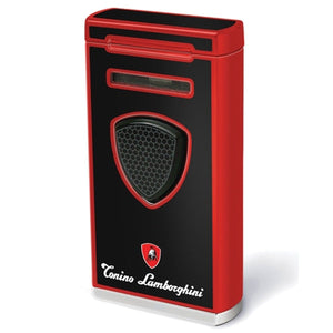 Pergusa - Red Torch Flame Lighter - Tonino Lamborghini - Shades of Havana