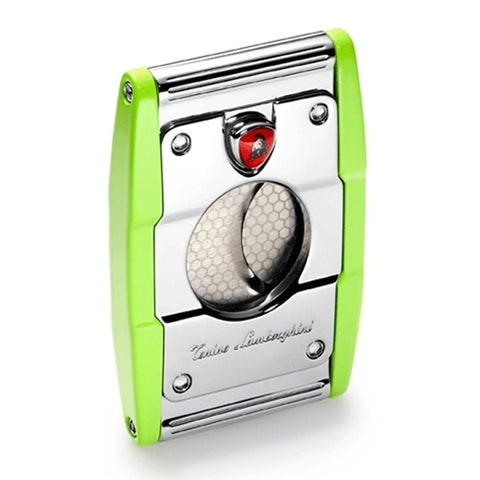 Image of Precisione - Green Cigar Cutter - Tonino Lamborghini - Shades of Havana