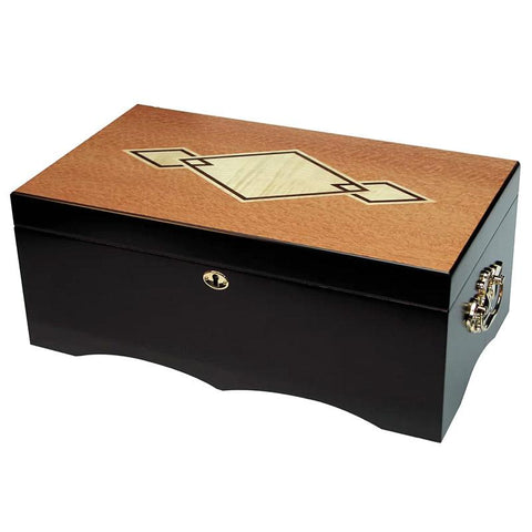 Image of Cordoba Large Humidor 200 Cigar Count | Walnut Finish - Shades of Havana