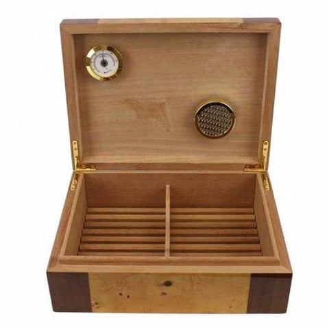Quote 25 Humidor 25 Cigar Count - Shades of Havana