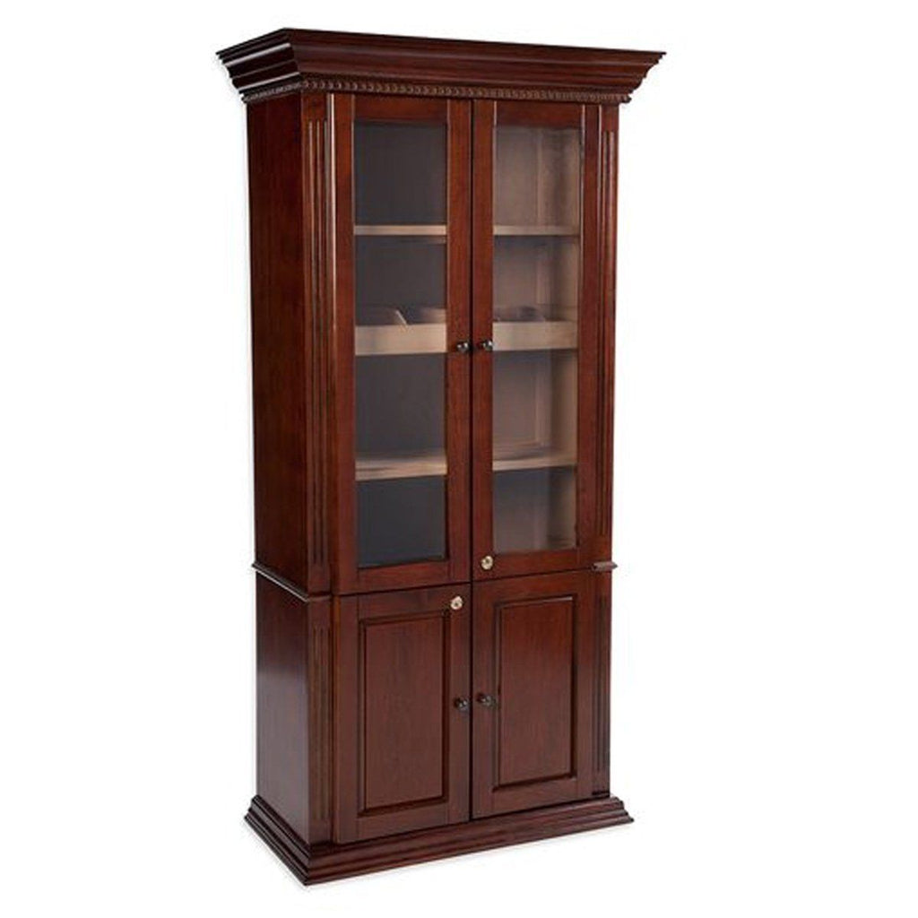 ... Antique Humidor Cabinet. Tap to expand - The Emperor 5000 Cigar Antique Humidor Cabinet – Shades Of Havana