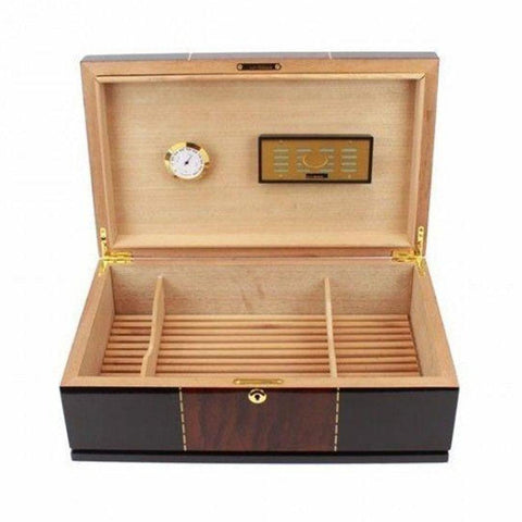 Don Salvatore Ticker 175 Count High Gloss Humidor - Shades of Havana