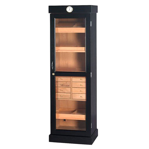 Tower of Power Humidor Cabinet 2000 Cigar Count - Shades of Havana