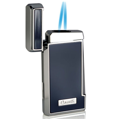 Tyros - Double Torch Flame Cigar Lighter - Caseti