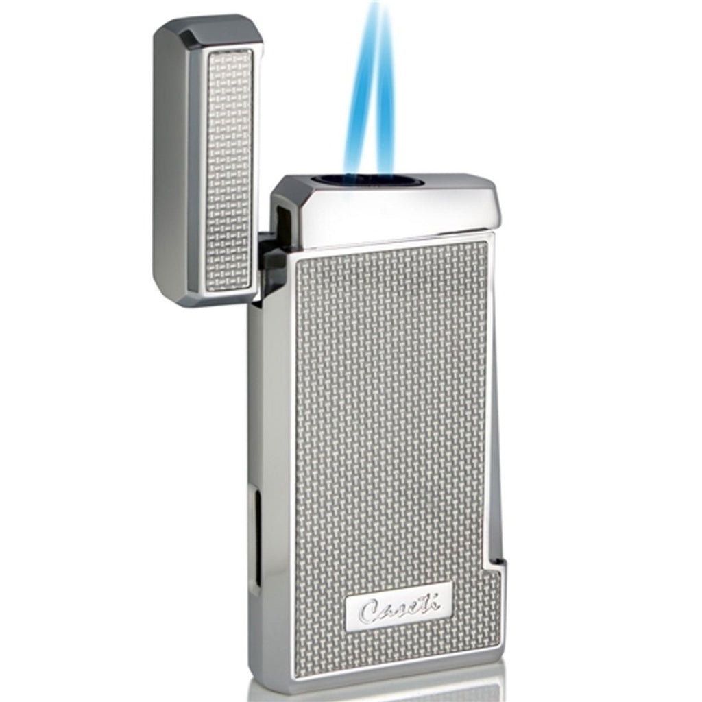Tyros - Double Torch Flame Cigar Lighter - Caseti - Shades of Havana
