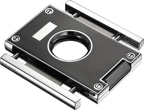 Sharp Lines Black Cigar Guillotine Cutter - Shades of Havana