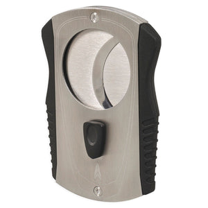 Vertigo - Chrome Extra Large 80 Ring Gauge Cigar Cutter - Shades of Havana