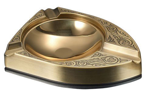 Albion 3 Cigar Solid Metal Ashtray