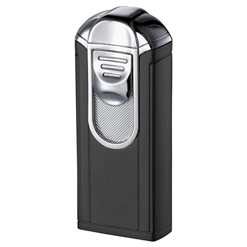 Alec Single Jet Torch Flame Cigar Lighter | Black - Shades of Havana