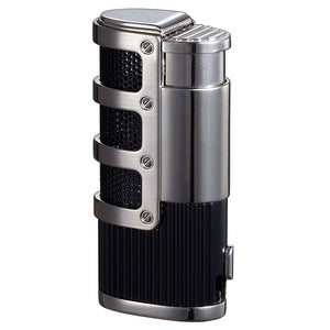 Cato Triple Jet Flame Torch Lighter - Shades of Havana