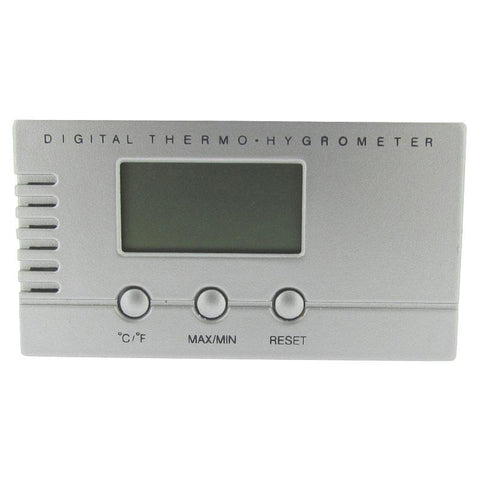 Visol Silver Digital Hygrometer for Cigar Humidors - Shades of Havana