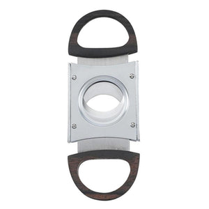 Raleigh Chrome Guillotine Cigar Cutter - Shades of Havana