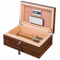 Richardson Premium Wood Humidor 100 Cigar Count