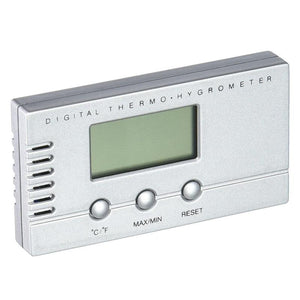 Visol Silver Digital Hygrometer for Cigar Humidors