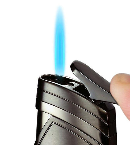 Image of Spark Single Torch Flame Cigar Lighter - Shades of Havana