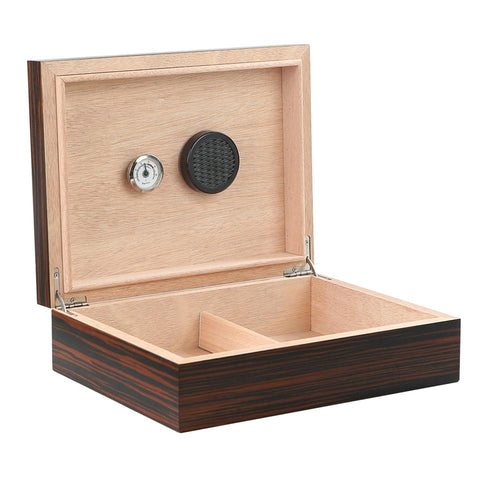 Image of Vizcaya Small Humidor 25 to 50 Cigars - Shades of Havana