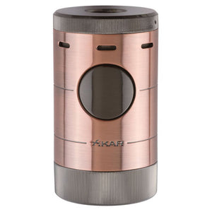 Xikar Volta - Tabletop Quad Torch Cigar Lighter - Shades of Havana